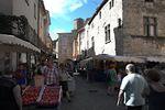 Markt in Les Vans